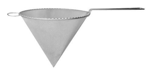 Coador cone 13,5cm inox - Lemtex