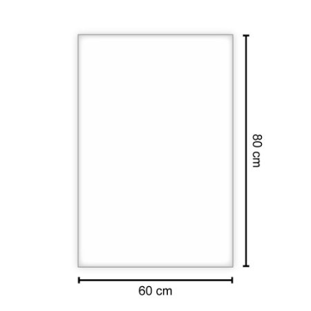 SACO PLASTICO TRANSPARENTE 60X80X0,15 (1kg)