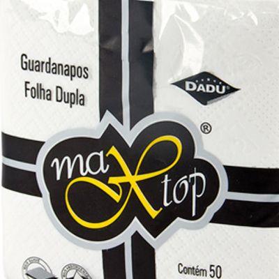 GUARDANAPO (DADU) MAX TOP F. DUPLA 33X32 G (C/50fls)