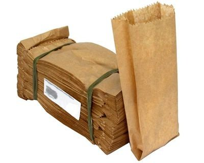 SACO PAPEL KRAFT NATURAL 5kg (C/500un)