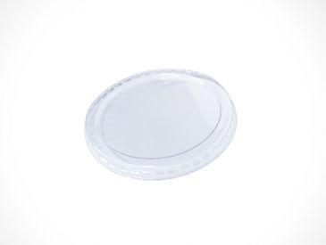 TAMPA PLAST TRANSP POTE PAPEL 250ml C/ 50UN (TPL 98 PET)