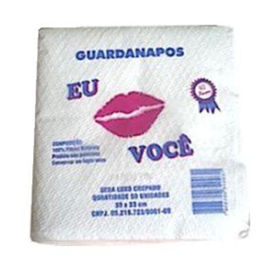 GUARDANAPO (EU&VOCE) 30X33 G FD C/18pct X 50fls