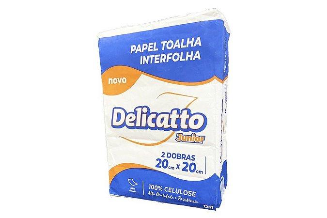 PAPEL INTERFOLHADO 2D (100% VIRGEM) 20X20 (DELICATTO)
