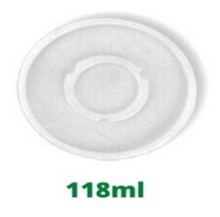 TAMPA PLAST S/ FURO (COPO TERM. 118ml D690402TNL) C/100 UN (DARNEL)