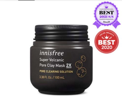 INNISFREE - Super Volcanic Pore Clay Mask 2X (100ml)
