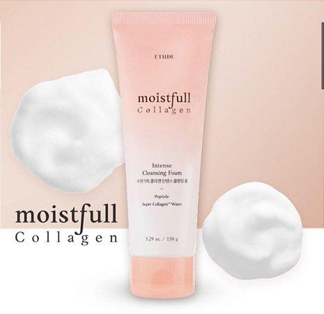 ETUDE HOUSE - Moistfull Collagen Intense Cleansing Foam (150g)