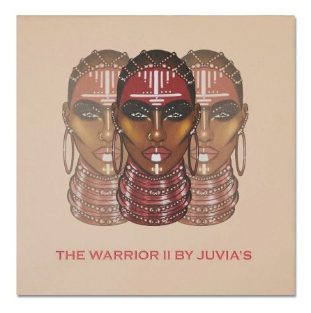 JUVIAS - Paleta de Sombras - The Warrior 2