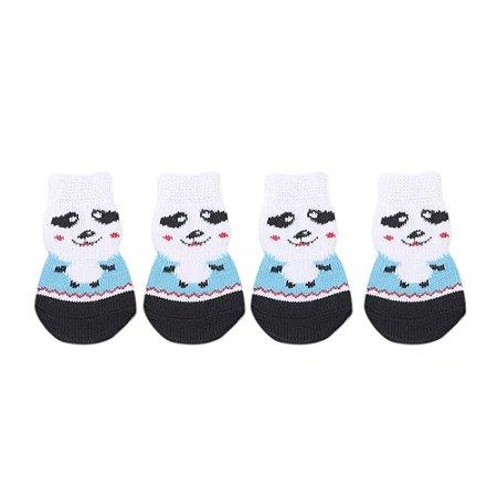 Meia Antiderrapante - Panda