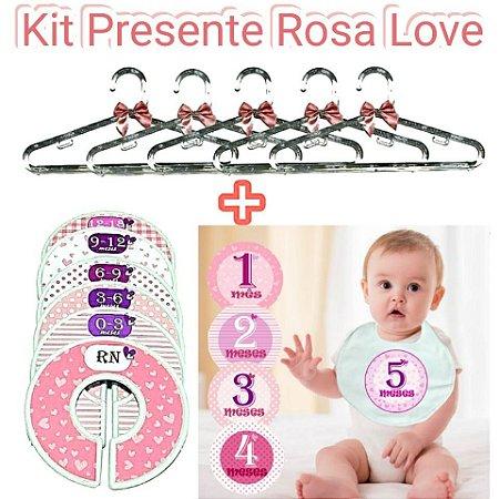 KIT Presente Rosa Love