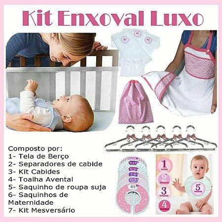 Kit Enxoval Luxo Menina