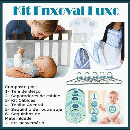 Kit Enxoval Luxo Menino