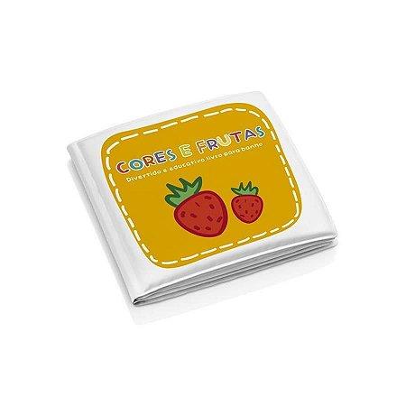Livro Educativo Para Banho Infantil Cores e Frutas - Multikids Baby