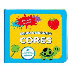 Livro Educativo Para Banho Infantil Cores  - Guta Guti