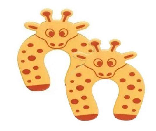 Kit Protetor Porta Trava de Segurança Bebê Girafa Art Baby - 2 unidades