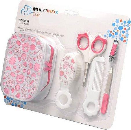 Kit Higiene de Bebe Rosa - Multikids Baby