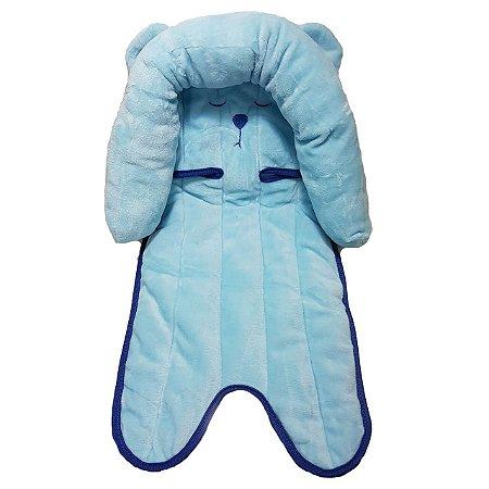 Suporte para Cabeça de Bebê Ursinho Azul