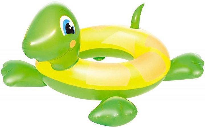 Boia Circular Inflável Infantil Tartaruga verde - Bestway