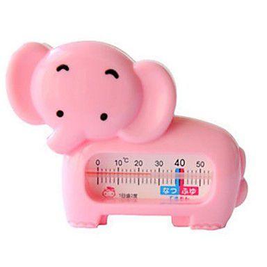 Termômetro Para Banho Elefante rosa