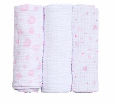 Baby Care Papi Soft Princesa 100cm x80 cm - 3 unidades