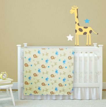 Manta Confort baby girafa - Antialérgico