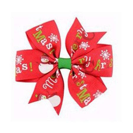 Laço Natal Vermelho - Merry Christmas
