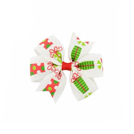 Laço Natal Branco - Presentes