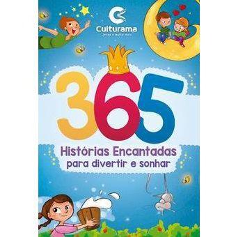 Livro 365 Histórias Encantadas Culturama