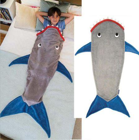 Manta / Saco de dormir -  Tubarão