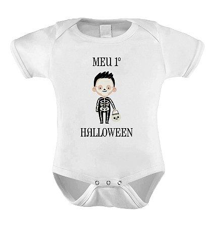 Body Meu Primeiro Halloween - Esqueleto