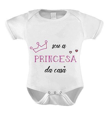 Body ou Camiseta Sou a Princesa da casa