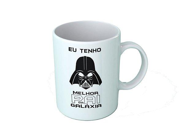 Caneca dia dos pais - Eu tenho o Melhor Pai da Galaxia