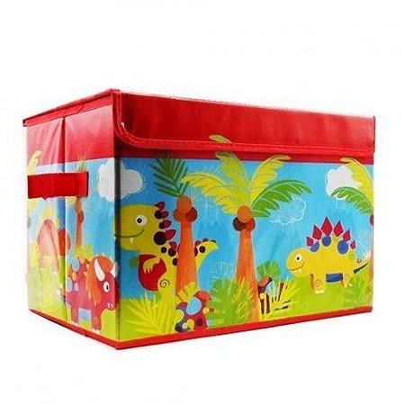 Caixa Organizadora de Brinquedos - Vermelha