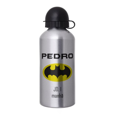 Garrafa Squeeze Escolar Personalizada -  Batman