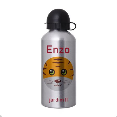 Garrafa Squeeze Escolar Personalizada - Tigre 2
