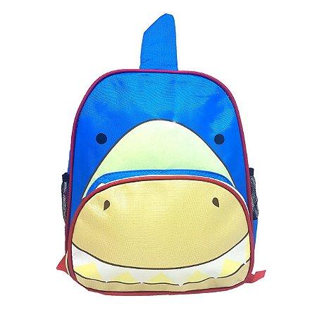 Mochila Infantil Bichinhos - Tubarão