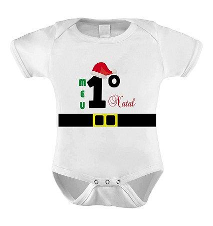 Body ou Camisetinha - Meu Primeiro Natal II