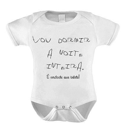 Body ou Camisetinha - É VERDADE ESSE BILHETE