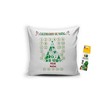 Almofada para Colorir Natal
