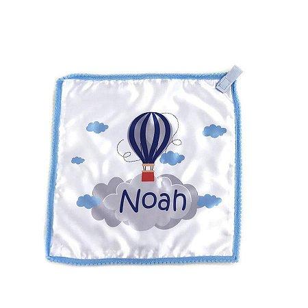 Naninha Personalizada com Nome Balão Azul