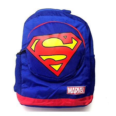 Mochilinha Infantil Marvel / DC- Super Man