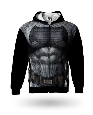 Casaco Moletom Adulto - Vingadores Batman