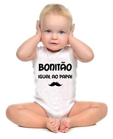 Body ou Camisetinha - Bonitão igual ao Papai