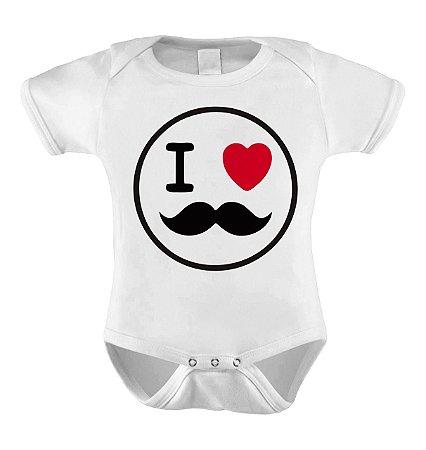 Body ou Camisetinha -I love Papai