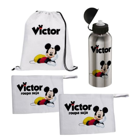 Kit Personalizado com nome - Mickey