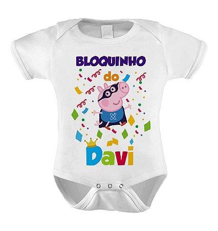 Body ou Camiseta Divertida - Bloquinho do NOME DA CRIANÇA