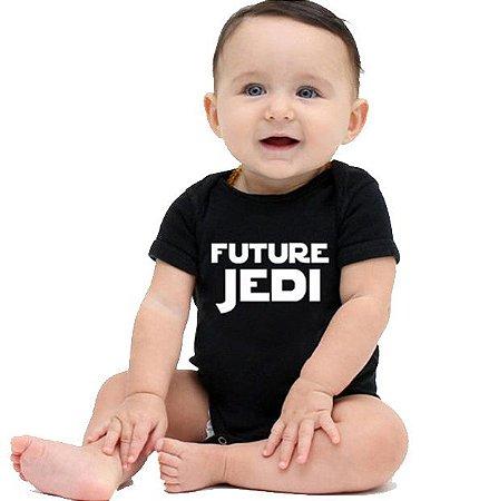 Body Divertido em Algodão - Future Jedi
