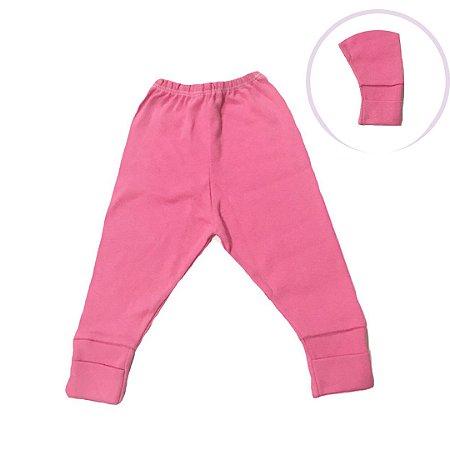 Mijão Bebê com Pé Reversível - Pink