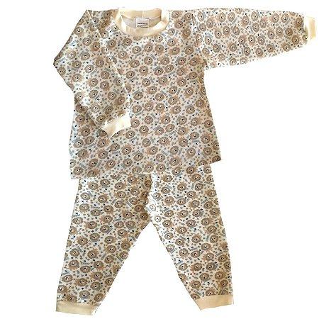 Pijama de Soft Infantil Leãozinho