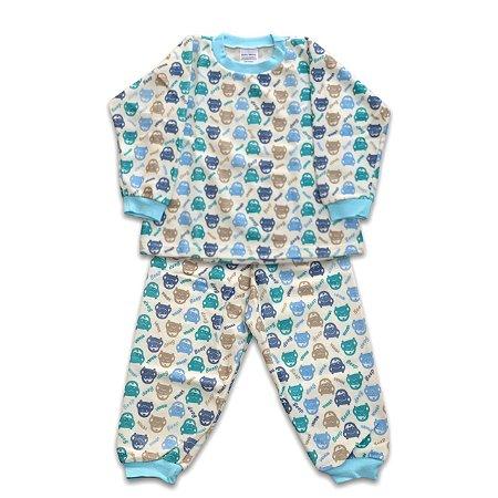 Pijama de Soft Infantil Carrinho Beep Beep