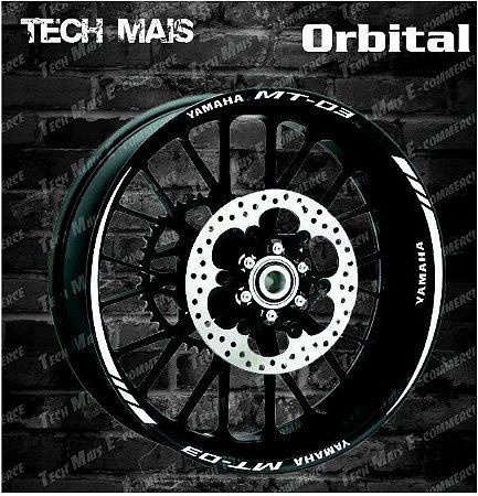 Friso Refletivo Personalizado Yamaha MT-03 (2016)